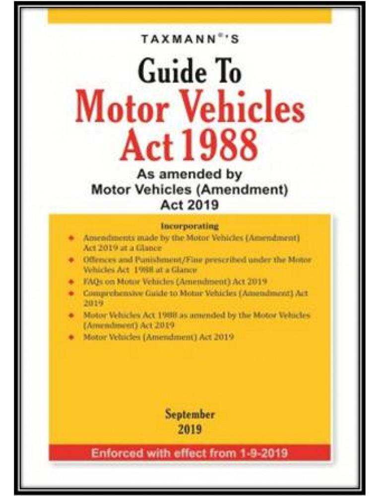 Motor Vehicle Act Regulations Manual Guide